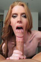 Jessica Wyld Tall & Sexy Redhead Loves Sucking Cock (17 November 2018)