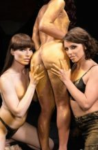Khloe Kay, Natalie Mars & Adriana Chechik Stay Gold (18 September 2019)