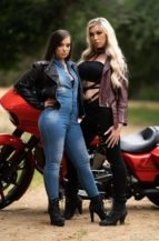 Aubrey Kate & Gia Paige The Long Ride (4 September 2019)