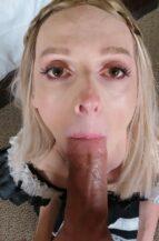 Kris Kat Sucking A Big Dick Instead Of Working (28 June 2021)