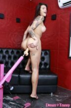 Bianca Berbare Big-Dicked Tbabe's Solo Stimulation (20 September 2021)