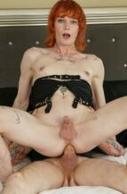 Evelyn Tumbles Cute Redhead Trans Dominated And Anal Fucked By Kai Bailey (14 October 2021)